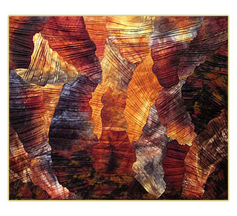 Twisting Canyons 1 by Donna Radner