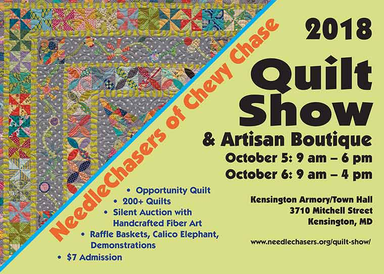 Needlechasers of Chevy Chase Quilt Show